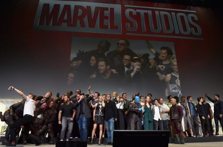 marvel comic con all marvel picture