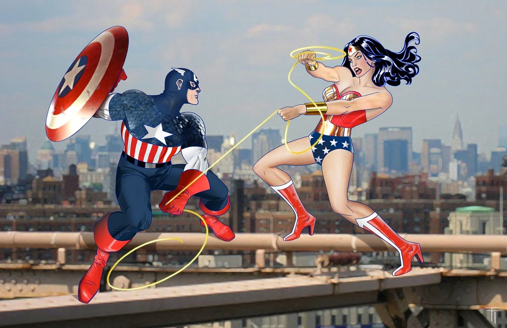 parallels between captain america and wonder woman 2016 images