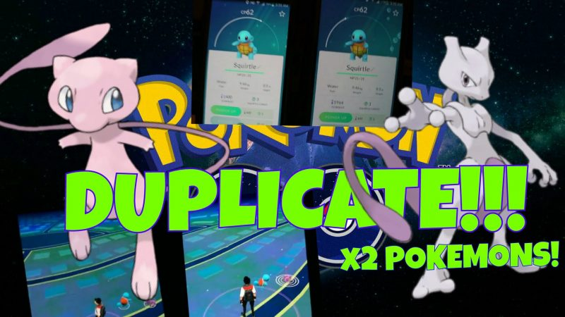 pokemon go duplicate pokemones 2016