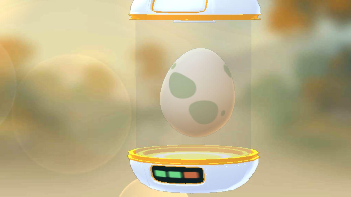 pokemon go incubator