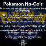 pokemon go rules for kids 2016