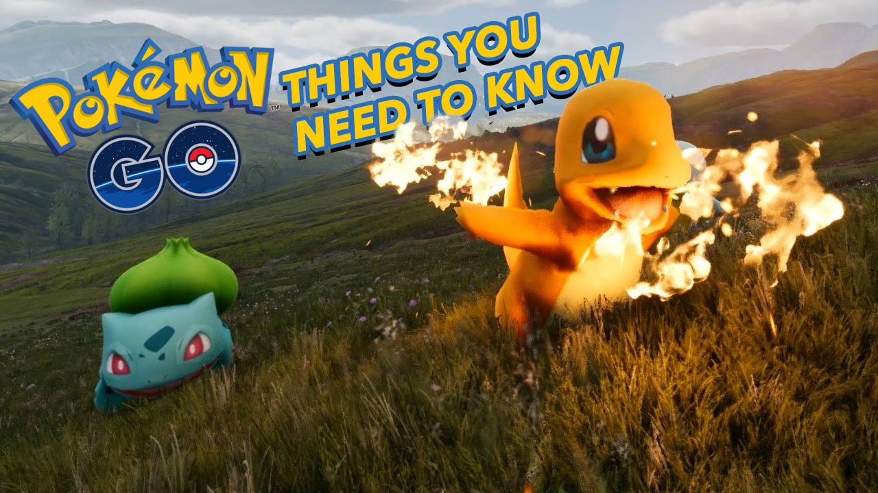 pokemon go what to know