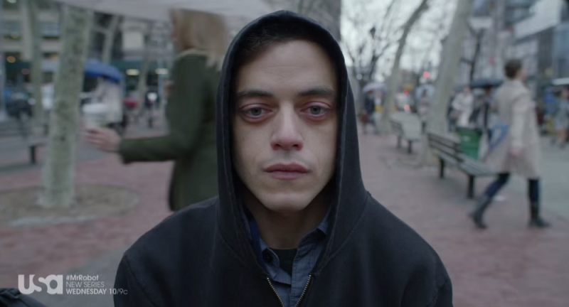 rami malek mr robot review