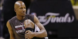 ray allen gets his shot with golden state warriors 2016 images