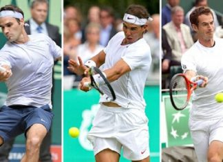 roger federer, rafael nadal and andy murray pull out of rogers cup 2016 images