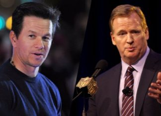 roger goodell and nfl not happy with mark wahlbergs ballers 2016 images