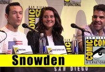 snowden and joseph gordon levitt give comic con a serious panel 2016 images