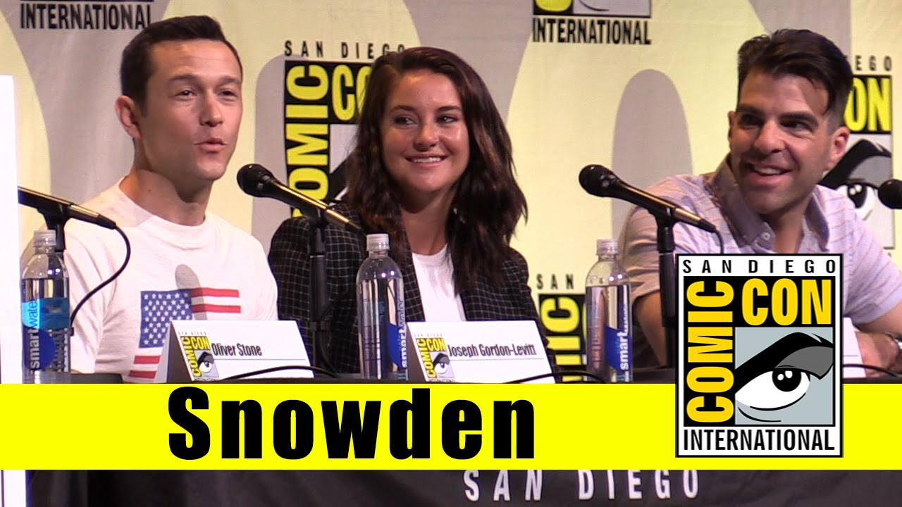 snowden and joseph gordon levitt give comic con a serious panel 2016 images 2016 images