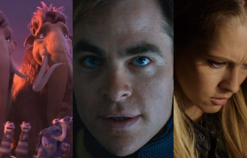 star trek beyond beats lights out and ice age at box office