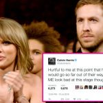 Taylor Swift sends Calvin Harris into Twitter rage and Kanye West mother memory