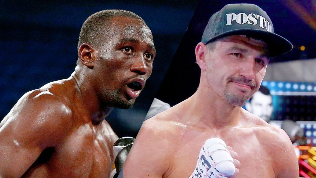 terrance crawford and viktor postol up for manny pacquiao bout 2016 images