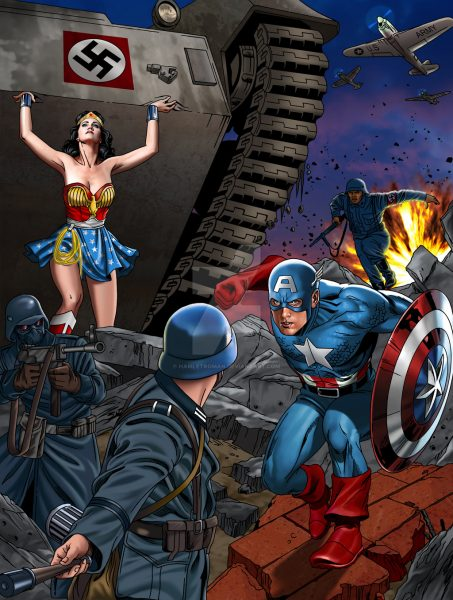 wonder woman and captain america sameness 2016