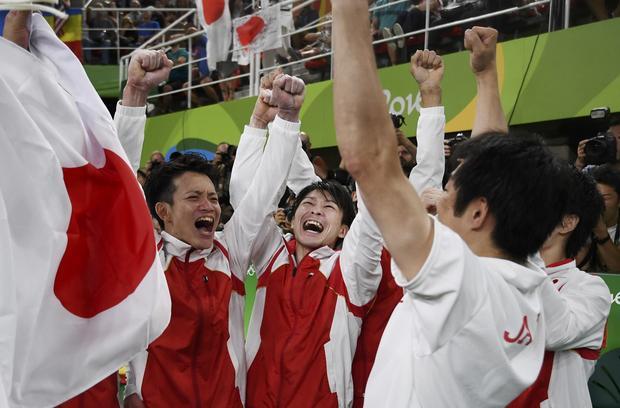 2016 rio olympics Artistic Gymnastics – Men's Team Final