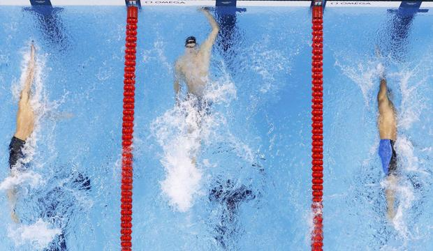 2016 Rio Olympics Swimming – Men's 100m Backstroke Final