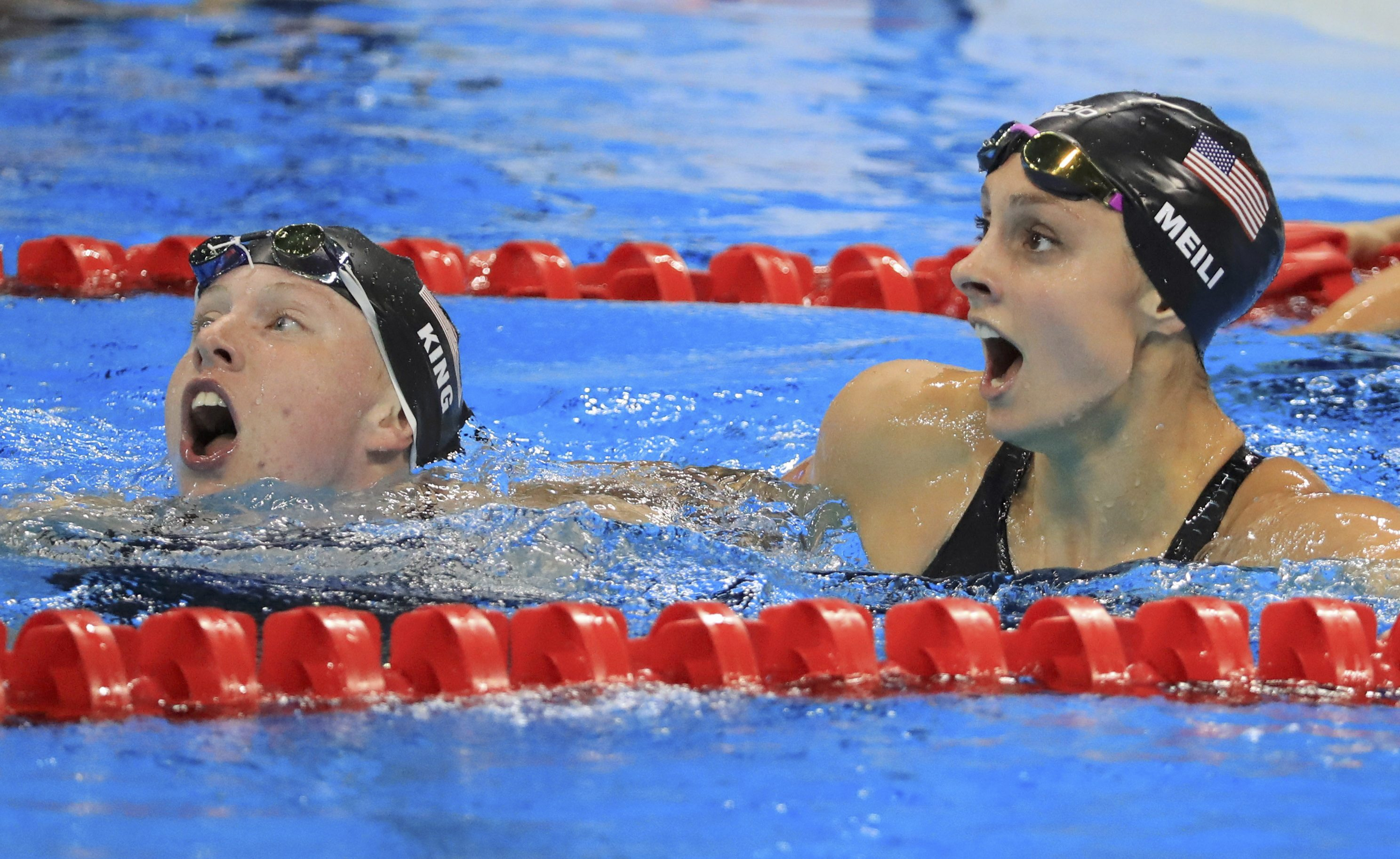 Swimming – Women's 100m Breaststroke Final