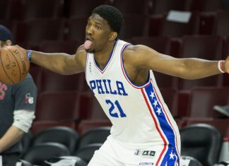 76ers joel embiid finally ready for NBA debut two years later 2016 images