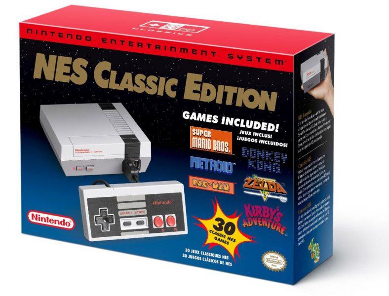 nes nintendo classic 30 games