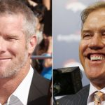 Brett Favre dominates news while John Elway grinds