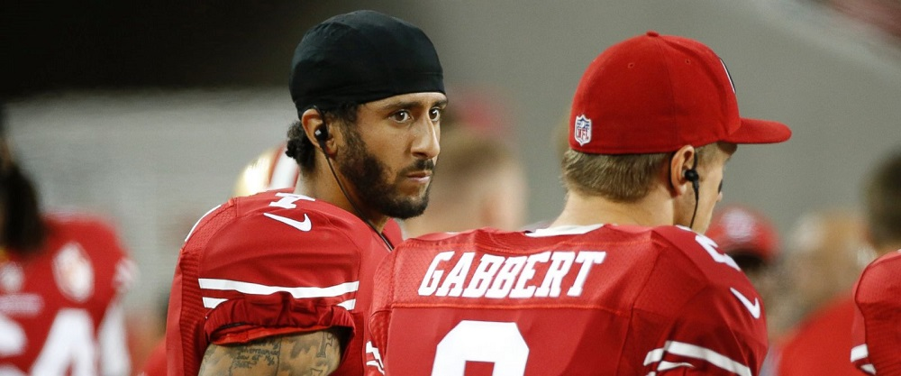Colin Kaepernick free not to stand 2016 images