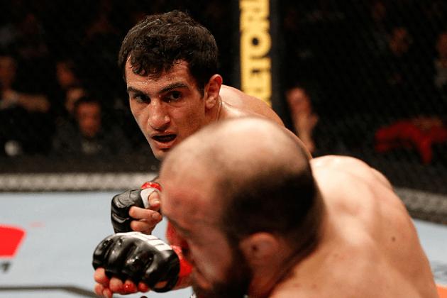 Gegard Mousasi vs Vitor Belfort ufc 204