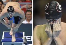 Two of Ryan Lochte's U.S. swimmers testifying about robbery 2016 images