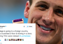 Will 'White Male Privilege' fail Ryan Lochte this time 2016 images