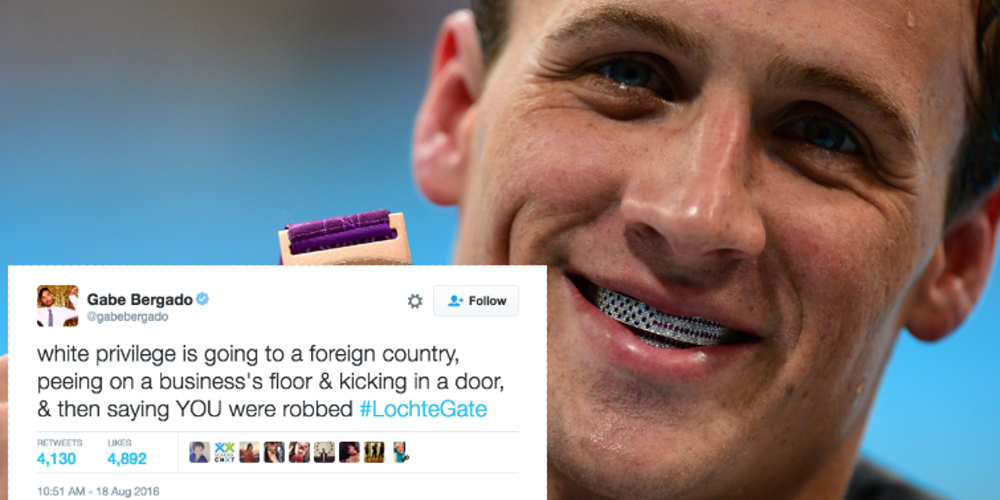 Will 'White Male Privilege' fail Ryan Lochte this time? 2016 images