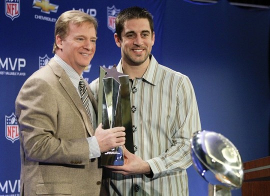 aaron rodgers on roger goodell
