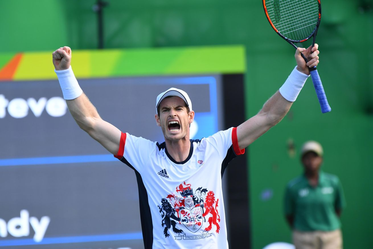andy murray at rio olympics