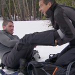 bear grylls warming up nick jonas feet with armpits