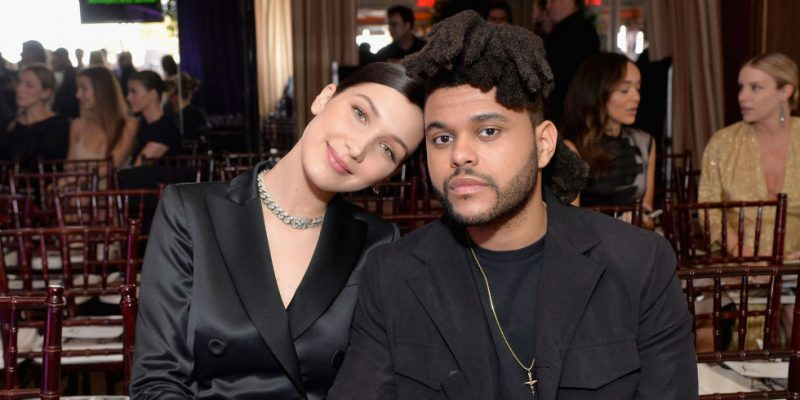 bella hadid keeping her weeknd busy 2016 gossip