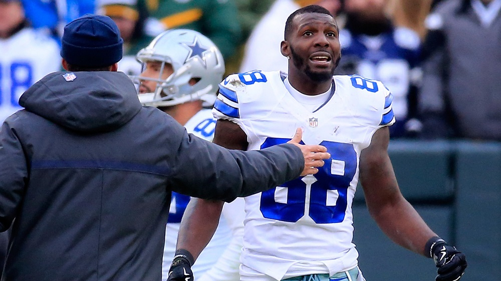 Cowboys' Dez Bryant Keeps Complaining, Maybe Usain Bolt can Replace Him 2016 images