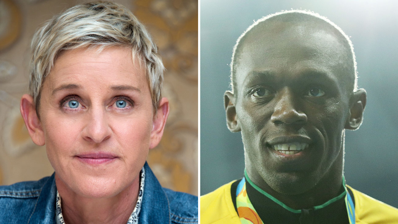 Ellen Degeneres and that racist Usain Bolt meme 2016 images