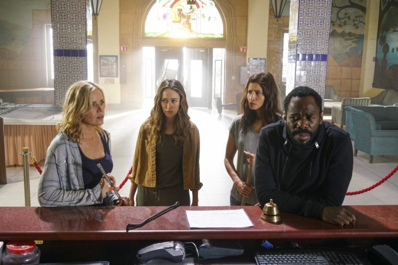 fear the walking dead 209 strand hotel visit