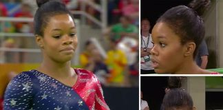 gabby douglas hair care causing a concern at rio olympics 2016 images