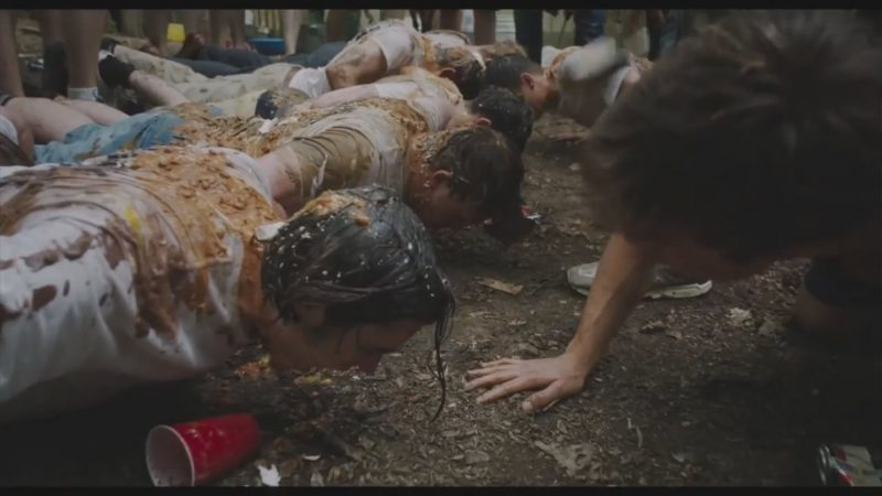 hardcore frat hazing in goat movie