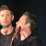 jensen ackles singing with rob benedict supernatural 2016