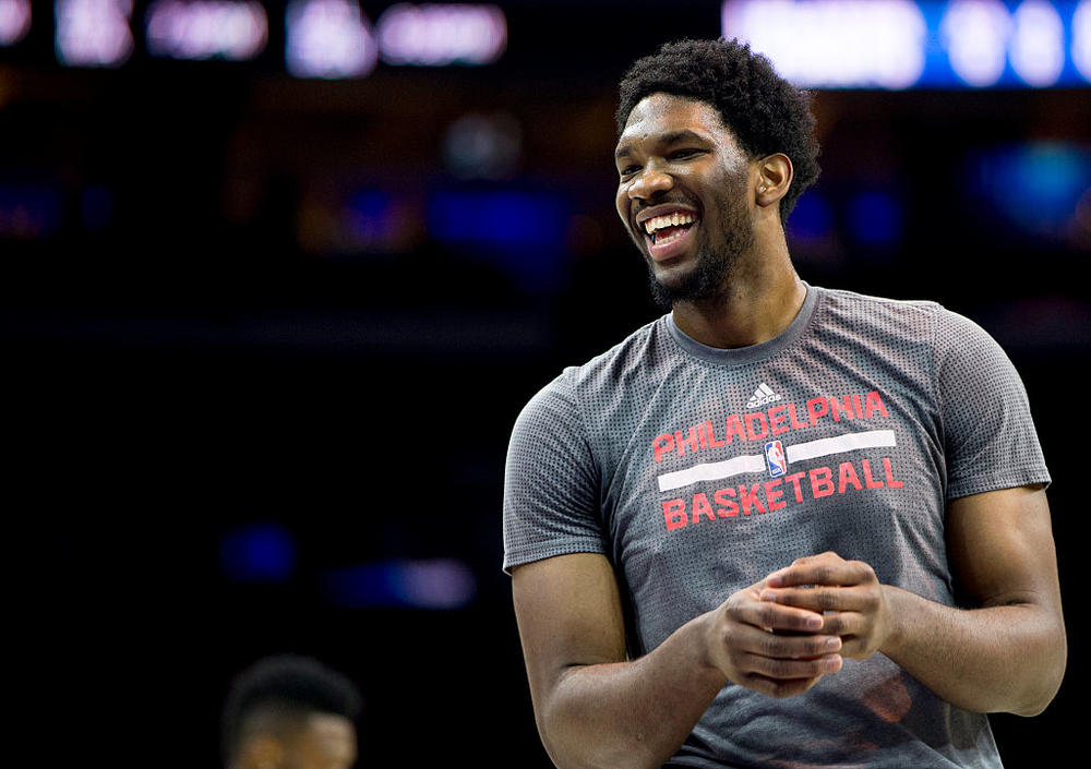 joel embiid very rested for 76ers nba debut