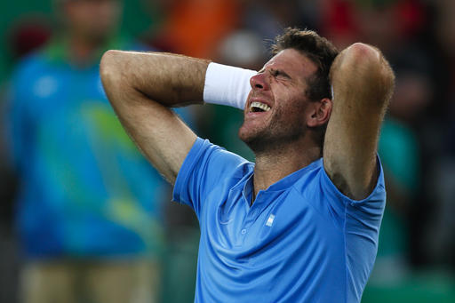 juan martin del potro loses to andy murray rio olympics