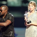 kanye west steals spotlight from taylor swift