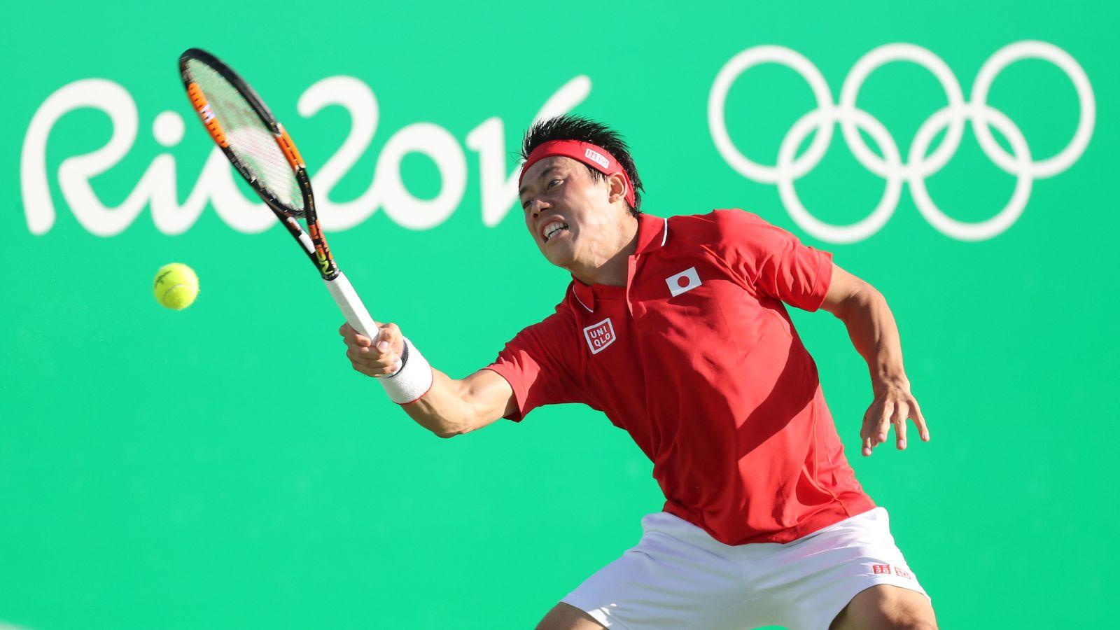 kei nishikori defeats rafael nadal rio olympics