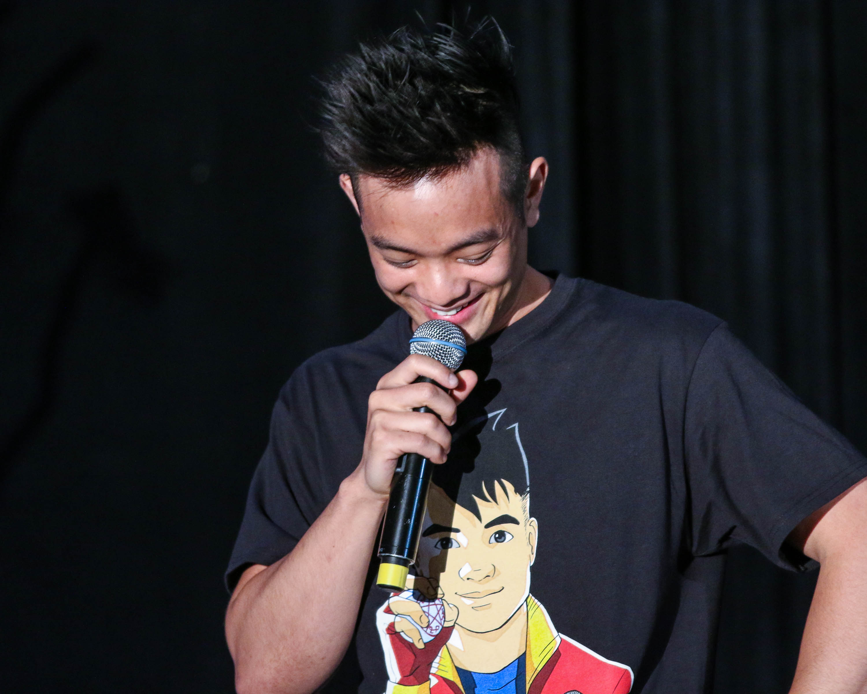 kevin tran osric chau of supernatural talking