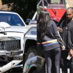 kris jenner rolls royce crash with kanye west