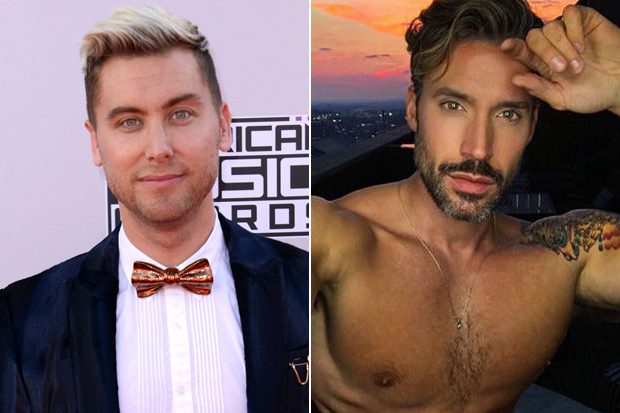 lance bass hosting finding prince charming