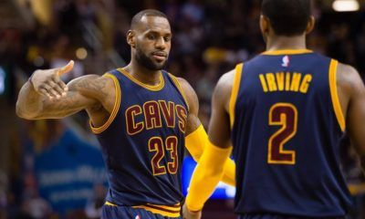 lebron james sticking with cleveland cavaliers for two more years 2016 images