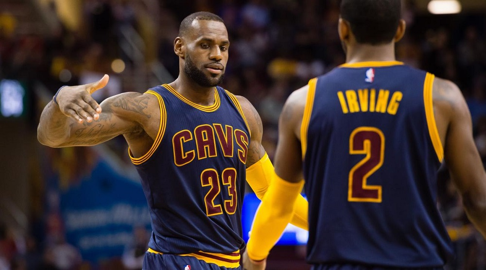 LeBron James sticking with Cleveland Cavaliers for several years 2016 images