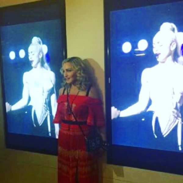 madonna at truth or dare screening