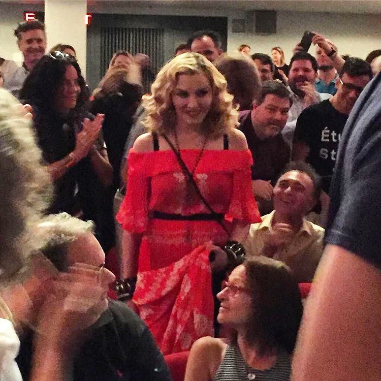 madonna shows up at moma for truth or dare