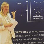 Maria Sharapova tries NBA during tennis suspension