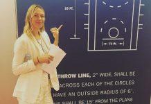 maria sharapova tries nba during tennis suspension 2016 images